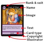 card template of angel3