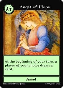 14 green angel of hope