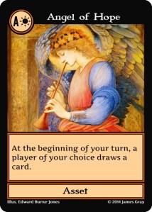 27 orange angel of hope