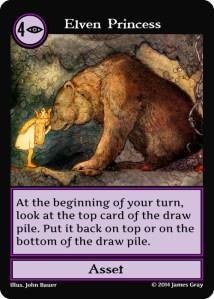 43 purple elven princess