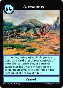 06 allosaurus blue