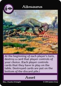 06 allosaurus purple