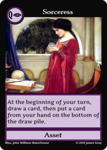 13 sorceress purple