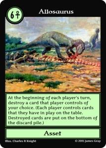 19 allosaurus