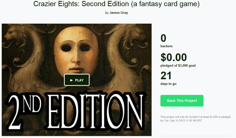 crazier kickstarter
