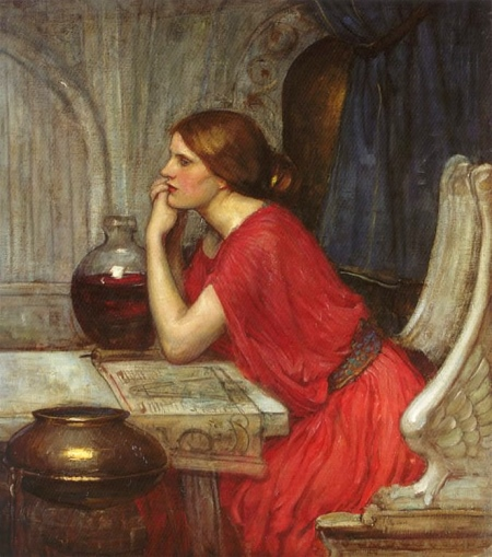 John_William_Waterhouse_-_Circe,_1911