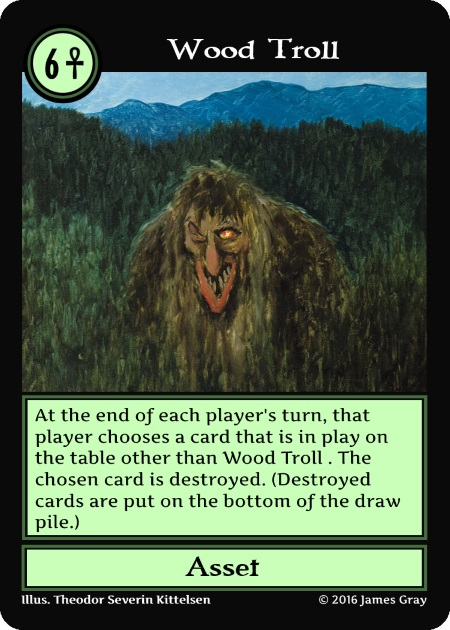 g6 wood troll