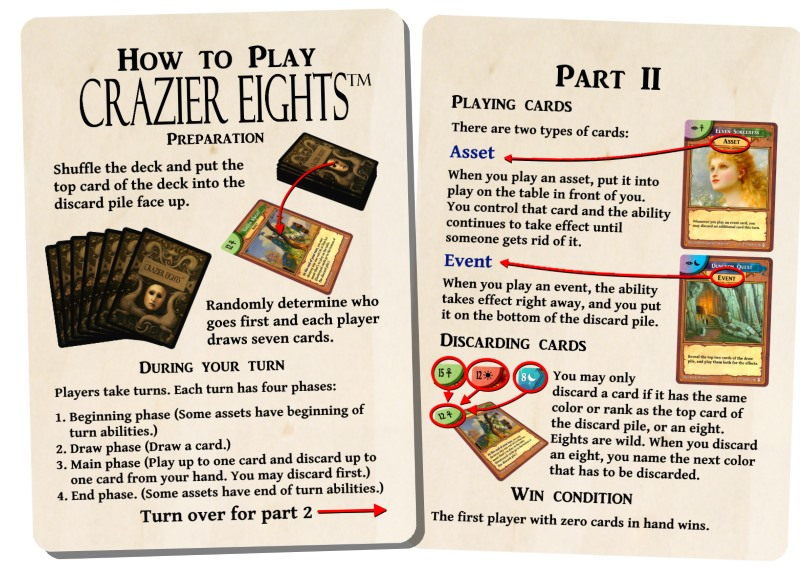 avalon rules cards
