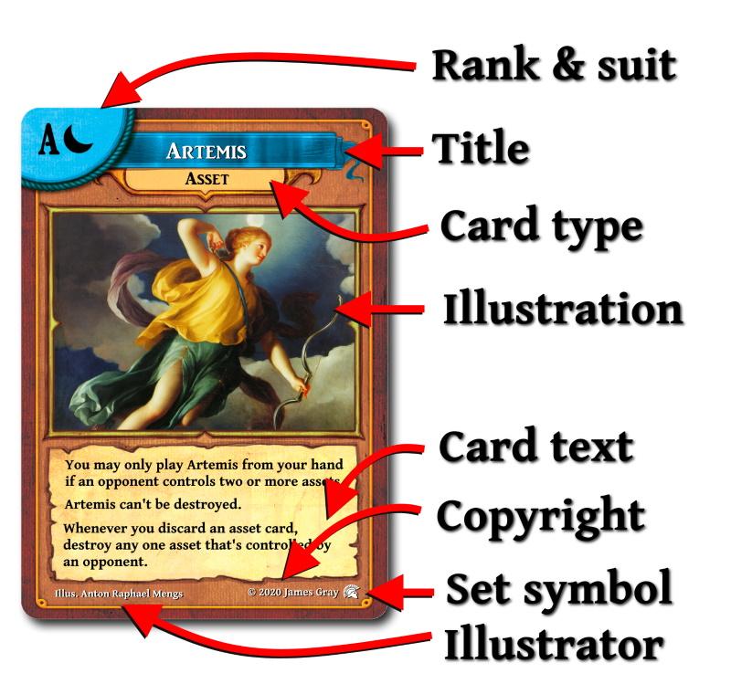 olympus card template