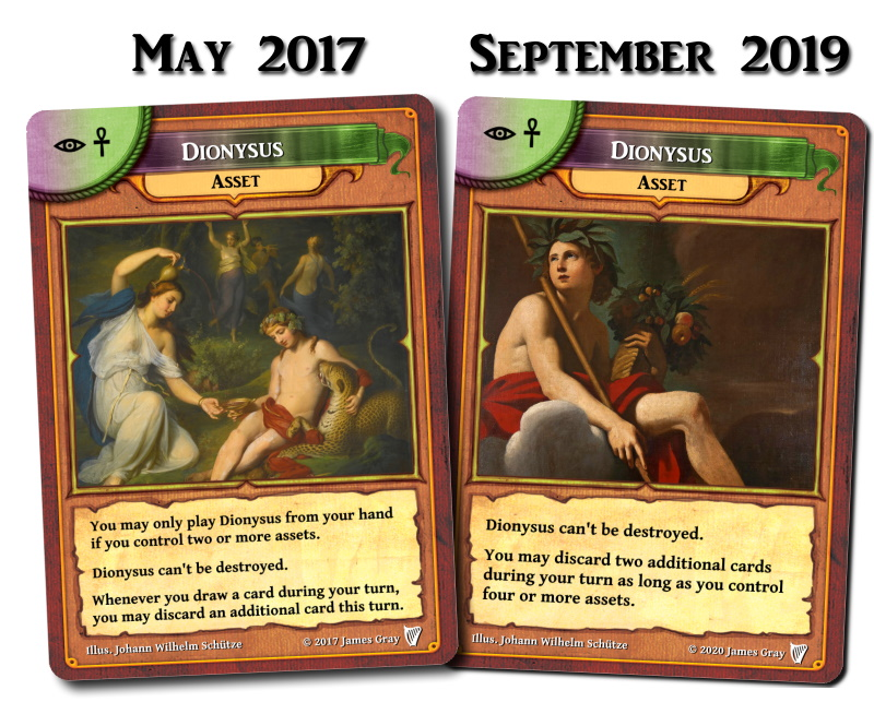 rejected pantheon cards