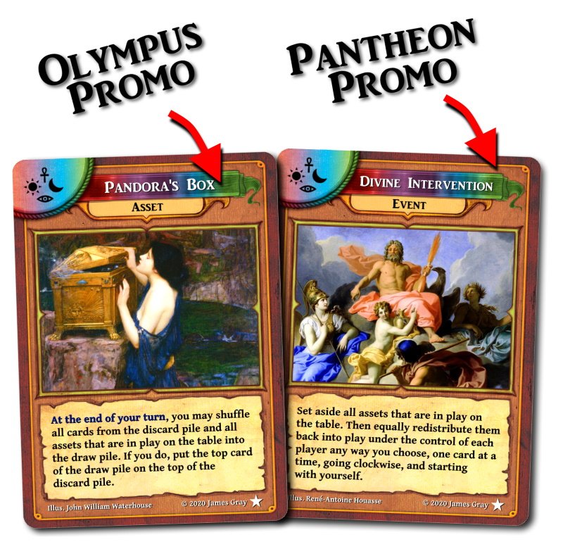 olympus release promo cards